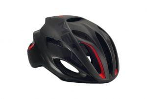 MET Rivale 58-61cm musta/punainen