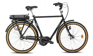 Oiva e-Bike 7-v musta