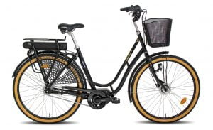 e-Aino e-Bike 7-v musta