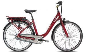 CE3 e-Bike 3v - punainen