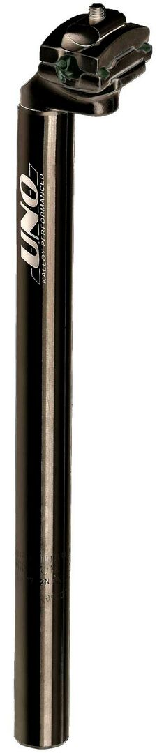 Istuinkannattimet - 31.6x350mm musta