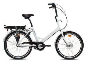 """e-jopo e-Bike 3v 24"""" - valkoinen"""