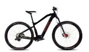 "XE10 e-Bike 10v 19"" musta/punainen"